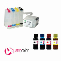 Bulk Ink Hp Pro 8100 8600 + 400 Ml De Tinta Corante