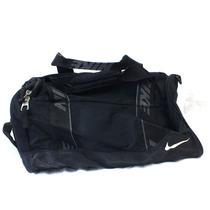 Mala De Viagem Nike Preta Com Alça Ajustavel 2 Bolsos B3301