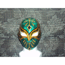 Mascara D Luchador Caristico Mistic Mizteziz Sin Cara P/niño