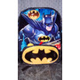 Batman Mochila Importada Ideal Para La Escuela Imperdible