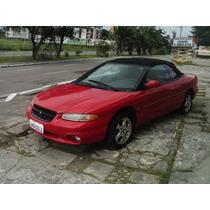 Chrysler Stratus 1998 ,v6,conversivel, Vermelho ,c.elétrica