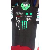 Camisa De Escuderia Monster