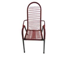Cadeira Poltrona De Descanso De Área Vermelha Cia Bistro