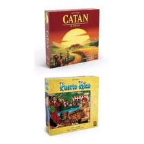 Combo Jogo Colonizadores De Catan + Jogo Puerto Rico