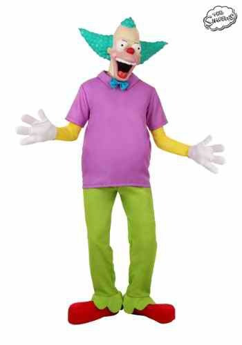 Disfraz krusty the simpsons payaso halloween traje adulto 2 en mercado libre - Simpson le clown ...