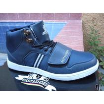 Botines Rasta Shoes Reto-003 Azul Originales Zapatos