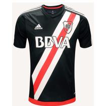 Camiseta De River Negra 2016/2017 Adidas Homenaje Labruna