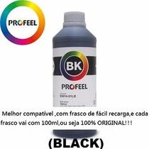Tinta Corante Profeel Impressora Epson 1litro E0014 Original