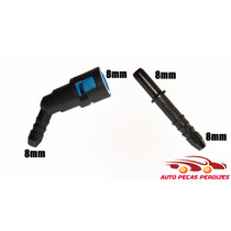 Conector Engate Rapido 8mm X 8mm C/ Emenda 8mm Preço Par