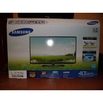 Tv Samsung Led De 40 Pulgadas Serie 5 + Base Pickens Aerea