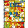 Caderno Escolar Espiral Tilibra Os Simpsons Grande 96 Folhas