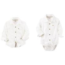 Camisa Body Varon Carters. Ideal Para Las Fiestas. Rorrobebe