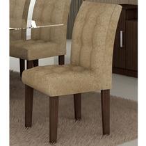 Conjunto De 2 Cadeiras Bellagio Cappuccino - Cel Móveis