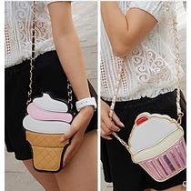 Bolsa Coketa Cupcake Moda Japonesa , Asiatica