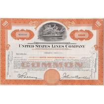 Bono Accion Cruceros United States Lines Corp. !!