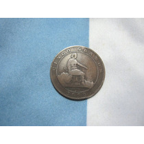 España Cobre 2 Y 5 Centimos 1870