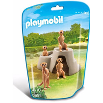 Retromex Playmobil 6655 Familia Suricatas Animal Zoologico