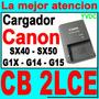 Cargador Original Canon Cb-2lce Sx40 Sx50 G1x G14 G15