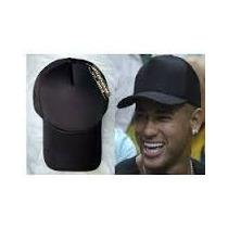 Boné Aba Curva Truker Liso Do Neymar E Justin