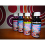 Tinta Vegetal Comestible Para Epson Y Aerografos Kit De 4