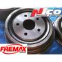 Campana De Freno Ford F100 Fremax Del Y Tras Del 66al92