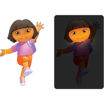 Dora La Exploradora Lampara Para Pared 3d Nueva