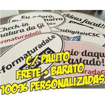 Kit 20 Plaquinhas Formatura + Brinde + Frete Barato