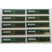 10 Memorias Ddr2 2gb Pc2-6400 800 Mhz Para Pc Envío Gratis