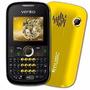 Celular Venko Carisma Qbqs 4 Chips Mp3 Novo Preto / Amarelo