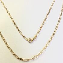 Corrente Cartier Masculina Oca Ouro 18k 750