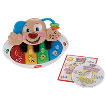 Fisher-price Laugh And Learn Piano Perrito Con Cd Bonus
