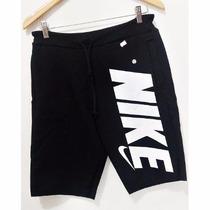 Bermuda Moleton Nike Shorts Nike Academia Bermudão Inverno