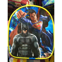 Mochila Dulcero Bolo Batman Vs Superman Recuerdo Fiesta