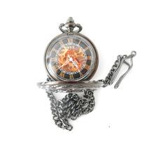 Reloj De Bolsillo Skeleton Vintage