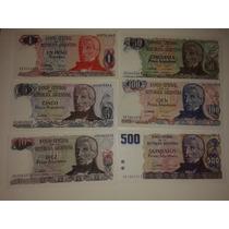 Billetes Republica Argentina Peso Argentino
