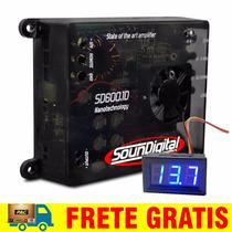 Modulo Soundigital Sd600 Sd600.1 600w Rms +voltímetro Grátis