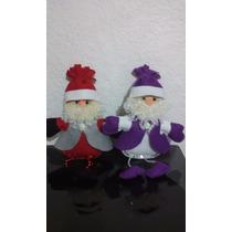 Figura Santa Claus Para El Árbol De Navidad.