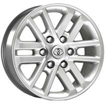 Roda Aro 16 Toyota Hilux - Pintada Prata - 6x139,7