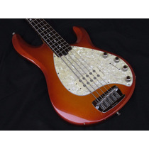 Baixo Ernie Ball Music Man Stingray 5 Honey Burst
