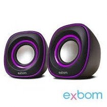 1 Un Caixa De Som Cs-46 Exbom Ref:10600