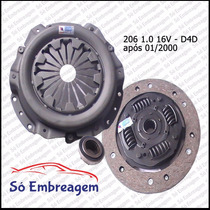 Kit De Embreagem Peugeot 206 1.0 16v - D4d (180mm)
