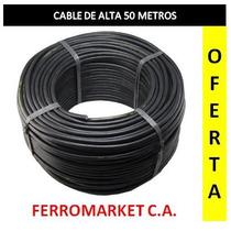 Cable De Alta Para Cerco Electrico 50 Metros