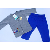 Conjunto Chaqueta Y Pantalon Bebe (kit 12 Piezas)
