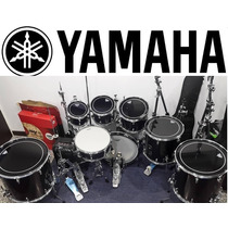 Bateria Yamaha 8 Pzas Alfombra Doble Pedal Y Mas Como Nuevo