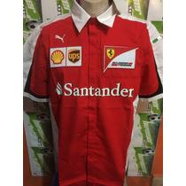 Camisa Puma Escuderia Ferrari 100%original Roja Sport