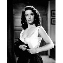 Lienzo Tela Fotografía Cine La Corona Negra María Félix 1951
