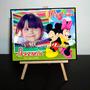 Mini Atril Souvenir Infantil Cumpleaños Mickey Minnie X 10 U