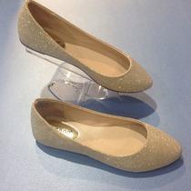 Zapatos Bamboo Dorados
