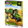 Mega Bloks John Deere Tractor Cortacésped Y