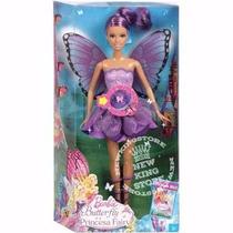 Boneca Barbie - Butterfly E A Princesa Fairy - Fada Lilás
